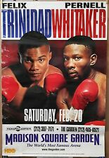 """FELIX TRINIDAD vs. PERNELL WHITAKER Original MSG-HBO 24X36"""" Boxing Poster 30%OFF"""