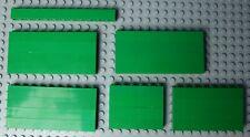26x LEGO GREEN BRICKS (INC 15X PN 6111 1X10) VGC #Y37