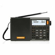 XHDATA D-808 FM/AM/SW/LW AIR SSB DSP RDS High Sensitivity Reception Portable