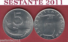 A41  ITALY ITALIA  REPUBBLICA ITALIANA  5 LIRE 1982  KM 92  FDC/UNC  DA ROTOLINO