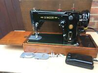 Beautiful Zig zag Vintage Singer Automatic Swing-Needle 306, 306K Sewing machine