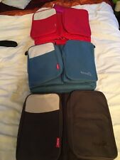 Baby Changing Bag Mat Cot Organiser Red Blue or Brown