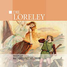 Audiolibro CD la Loreley letto di Matthias Ernst Holzmann