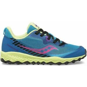 Saucony Peregrine 11 Shield Junior Trail Running Shoes - Blue