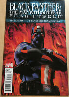 Marvel Comics #521 Black Panther The Man Without Fear Fear Itself NM