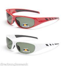 Gafas de sol de hombre rojo blanco