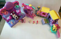 My Little Pony Bundle- Train - Helicopter - Rarity Fashion Runway - Ponies