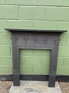 Stunning Art Nouveau StyleCast Iron Fire SurroundFully Restored  £350