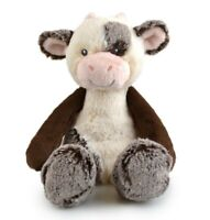 FRANKIE & FRIENDS COW PLUSH SOFT TOY 28CM STUFFED ANIMAL BY KORIMCO - BNWT