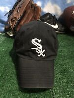 Vintage Chicago white sox baseball cap fitted black xl hat  Cap H17