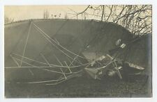 Real Photo France Zeppelin Dirigible Nacelle & Chassis c1905 RPPC postcard