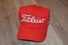 BUD CAULEY TITLEIST TOUR ISSUE RED GOLF HAT Medium/Large