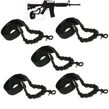 5Pack Hunting Tactical 1 One Single Point Bungee Rifle Gun Sling w/ QD Buckle 10