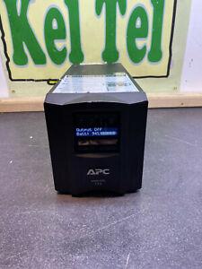 APC Smart-UPS (SMT750I) UPS- + BATTERY TESTED WORKING + LEADS BACK UP #4F