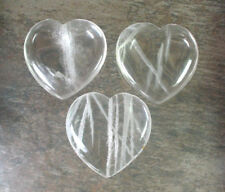 Clear Quartz Heart - 45 mm - Item 79300