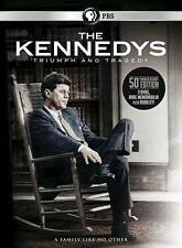 LARGE SEALED BOX SET - The Kennedys: Triumph and Tragedy (DVD, 2014, 2-Disc Set)