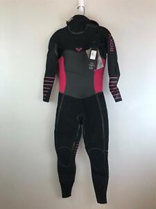 Women's Roxy Full Body Syncro Plus Wetsuit, Size  - Black/Multi