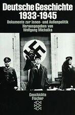 Deutsche Geschichte 1933-1945. Dokumente zur Innen- und ...   Buch   Zustand gut