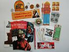 Smokey Bear Collectibles: Buttons, Patch, Comic Book, Stickers, Keychain.....