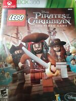 LEGO Pirates of the Caribbean: The Video Game (Microsoft Xbox 360 2011) COMPLETE