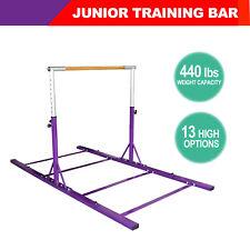Training Bar Horizontal Bar Junior Gymnastics Adjustable Equipment Indoor Purple