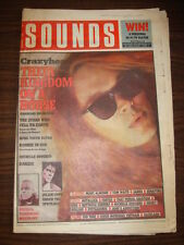 SOUNDS 1988 OCT 1 CRAZYHEAD SONIC YOUTH JAMES KISS