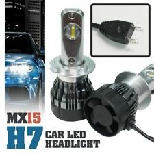 1 set MX15 H7 Car LED Headlight Driving Light Bulbs Hi/Lo Beam White 6000K