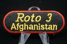 Canadian Forces Military Police MP Roto 3 Afghanistan Patch