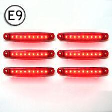 6x Luz de Marcador Lateral para Transporter Furgoneta Autobús Remolque Agua 12v