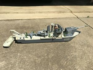 Vintage 1960's Remco Fighting Lady Battleship 100% Original for Parts or Repair