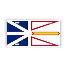 """Newfoundland and Labrador Provinical Flag Licence Plate 6"""" x 12"""" Aluminum Plate"""