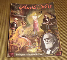 Klavier Noten - Musik aus aller Welt für Haus und Heim Heft 1