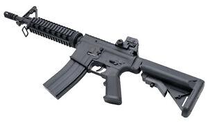 Softair Gewehr 8907 Karabiner Gewehr Sturmgewehr ABS mit Munition BB Profi Black