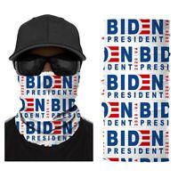 Multifunctional Headwear Balaclava Neck Gaiter Bandanas, Biden President