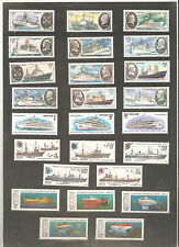 USSR 1970-1990...Lot of  MNH  Stamps ** .... Ships, Boats, Submarines...n° 8