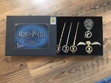 Harry Potter Pewter Key Ring Set of 5 - Sdcc 2017 Exclusive