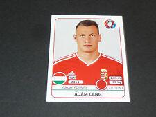 666 ADAM LANG VIDEOTON FC HONGRIE MAGYAR PANINI FOOTBALL UEFA EURO 2016
