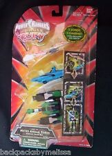 Power Rangers JUNGLE FURY Micro Animal Zord NEW Set B Megazord Bat Shark Figure