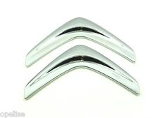 Genuine New Style CITROEN CHEVRONS REAR BADGE Emblem For C1 2014+ Mk2 VTi HDi