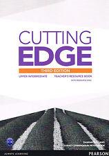 CUTTING EDGE Upper-Intermediate THIRD EDITION Teacher's Book w Resource Disc NEW