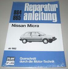 Reparaturanleitung Nissan Micra K 10 ab 1982 Motor Getriebe Elektrik Bremsen NEU