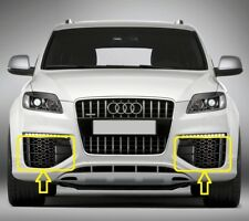 Genuine AUDI Q7 V12 (07-16) Front Bumper Lower Grill LEFT + RIGHT PAIR SET