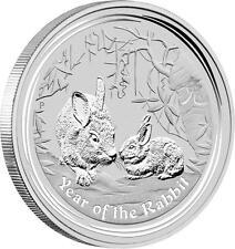 1 kg Silber,Silver Münze Lunar II Hase,Rabbit 2011 Perth Australia 30 Dollar