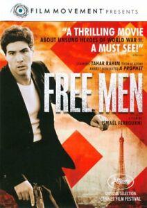 Free Men DVD_French MovieEnglish subtitles_Tahar Rahim JEWISH THEMES RARE