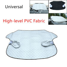 Car Windshield Cover Sun Shade Protector Snow Rain Dust Frost Guard PVC Fabric