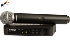 New Shure Blx24 Vocal Wireless System Microphone With Sm58 Blx24/Sm58 Blx24Sm58