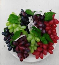 8 assorted colour grapes artificial free chipping Oz stock