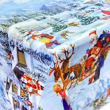 Wachstuch Tischdecke Meterware Weihnachten Tag Nikolaus Silvester