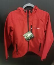 Gage by Grundens Midway Hooded Softshell Red S NWT