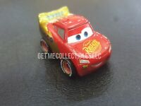 DISNEY PIXAR CARS DIE CAST MINI RACERS DINOCO WRAP MCQUEEN LOOSE FREE SHIP $15+